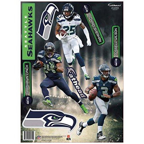 Seattle-Seahawks-NFL-2014-Fathead-Teammate-Player-Set-Wilson-Lynch-Sherman