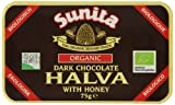 Sunita Organic Dark Chocolate Halva 75 g (Pack of 6)
