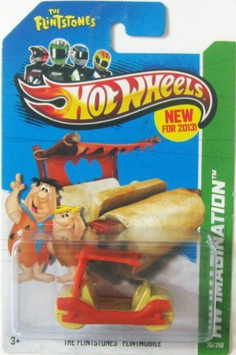 2013 Hot Wheels Hw Imagination - Flintstones Flintmobile - 1