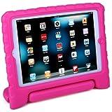 HDE Kids Light Weight Shock Proof Handle Case for iPad Mini / Mini 2 / Mini 3 (Pink)