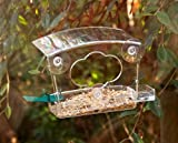 #9: WILD BIRD WINDOW FEEDER WITH FATBALL HOLDER AND WATER BOWL