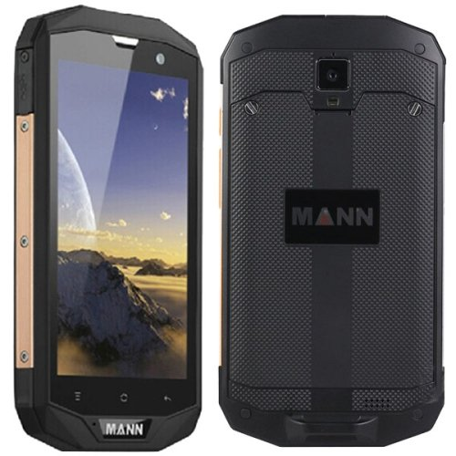 MANN ZUG 5S 8GB, Rete: 4G, Waterproof Level: IP67, 5.0 pollici Qualcomm 1.2GHz Quad Core, RAM: 1GB