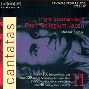 Bach: Cantatas, Vol 11 (BWV 136, 138, 95, 46) /Bach Collegium Japan · Suzuki