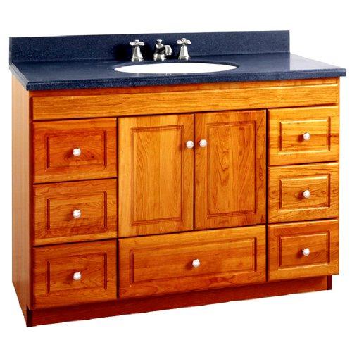 cheap strasser woodenworks ultraline 48 inch bathroom vanity satin