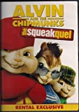 Cover art for  ALVIN AND THE CHIPMUNKS:SQUEAKQUEL RR