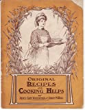 img - for 1907 ORIGINAL RECIPES AND COOKING HELPS, COOKBOOK book / textbook / text book