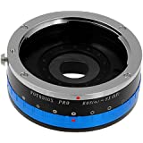 Fotodiox Lens Mount Adapter with Iris, Canon EOS EF (Not EF-s) lens to Fujifilm X Camera Body (X-Mount), for Fujifilm X-Pro1, X-E1