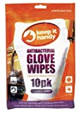 Keep-it Handy Antibacterial Glove Wipes (Pack of 12)