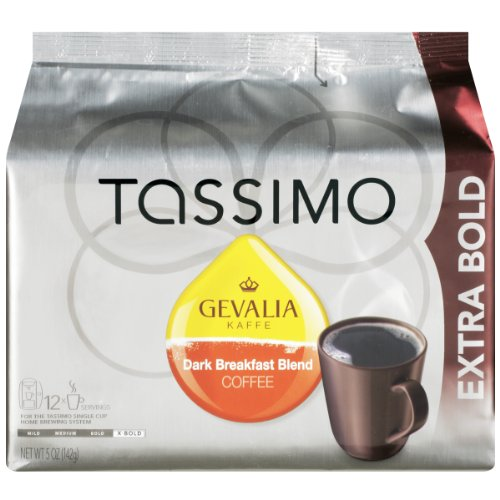 Gevalia Dark Breakfast Blend, 12-Count T-Discs