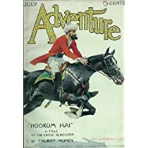 Mint VINTAGE Adventure PULP Magazine Cover POSTER G