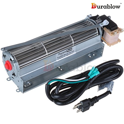 Durablow FK12 Replacement Fireplace Blower Fan Kit for Majestic, Vermont Castings, Monessen, Temco, Rotom HB-RB12 (Majestic Fireplaces compare prices)