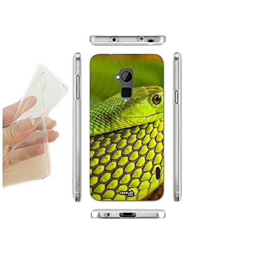 caselabdesigns-funda-carcasa-slim-serpente-verde-para-htc-one-max-tpu-cubierta-en-silicona-suave