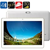 3G Android Tablet - 10.1 Inch IPS Screen, Android 4.4, 1GB RAM + 16GB ROM, Bluetooth 4.0, OTG