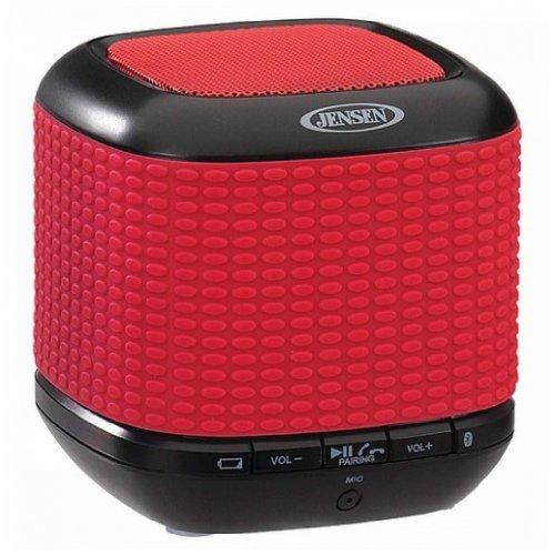 Jensen Portable Bluetooth Speaker (Red)