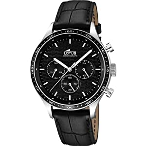 Men's Watch - Lotus - Leather Band - Chronograph - 15964/2
