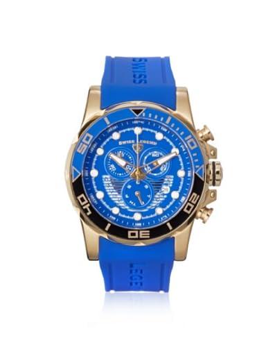 Swiss Legend Men's 21368-YG-03 Avalanche Blue Silicone Watch