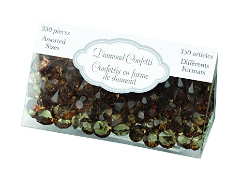 Lillian Rose Diamond Confetti, Brown