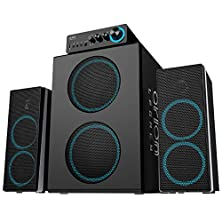 buy Arion Legacy Ards750-Bk Deep Sonar 750 Bone Crushing Bass 166 Watts Pc Speakers With Dual Subwoofers And Control Box