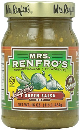 Mrs. Renfro's Hot Green Jalapeno Salsa, 16 oz