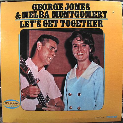 Amazon.com: George Jones, Melba Montgomery: Let's Get Together: Music