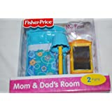 Fisher Price My First Dollhouse - Mom & Dad's Room