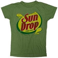 Sun Drop Citrus Soda Ladies Junior Fit T-Shirt
