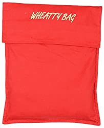 Shenaro Lifestyle's 100% Cotton, Organic & Eco-Friendly Wheatty Bag with Treated Whole Grains. Effective Treatment for Pains & Aches. Microwave Friendly.