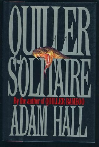 Quiller Solitaire: A Novel