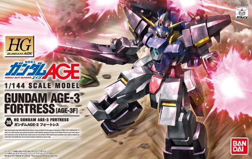 HG 1/144 AGE-3F ガンダムAGE-3 フォートレス (機動戦士ガンダムAGE)