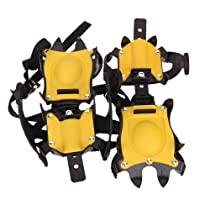 Anti-Slip Ice/Snow Boot Shoe Covers Crampons Ice Cleats Gripper Climbing Walking