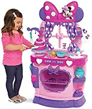 Just Play Minnie Mouse Large Kitchen Pretend Play for Girls Durable Colorful Playset