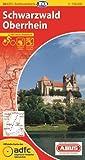 ADFC-Radtourenkarte 24 Schwarzwald Oberrhein 1:150.000, reiß- und wetterfest, GPS-Tracks Download und Online-Begleitheft (ADFC-Radtourenkarte 1:150000)