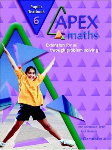 Apex Maths 6 Pupil's Textbook: Extension for all through Problem Solving