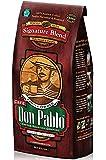 2LB Cafe Don Pablo Gourmet Coffee Signature Blend - Medium-Dark Roast - Whole Bean - 2 Lb Bag