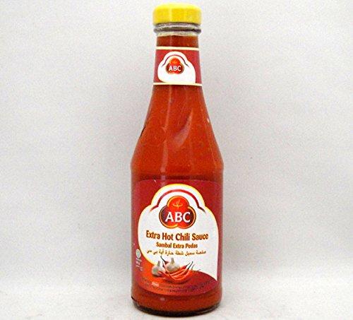 ABC サンバルエキストラペダス 激辛口チリソース335ml/瓶 インドネシア料理業務用