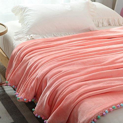 bduk invernale FLANELLA coperta piumino Corallo coreano sfera singolo doppio caldo, coperte