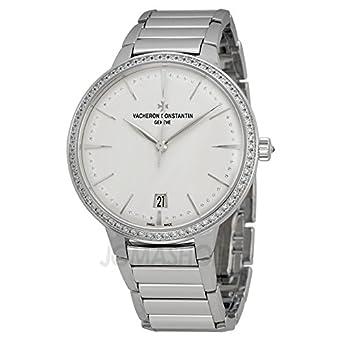Vacheron Constantin Patrimony Contemporaine Silver Dial White Gold Ladies Watch 85515CA1G-9841
