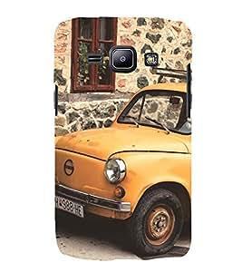 vintage automobile pic 3D Hard Polycarbonate Designer Back Case Cover for Samsung Galaxy J1 :: Samsung Galaxy J1 J100F (2015)