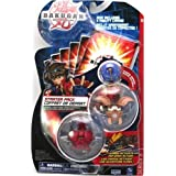 "Bakugan Battle Brawlers Starter Pack (3 Bakugan and 3 Metal Cards)- ""NOT Randomly Picked, Shown As In The Picture!' ~ Spin Master"