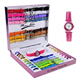 39pcs Premium Interchangeable Ladies Watch set- customized wristwatch -Color Vary