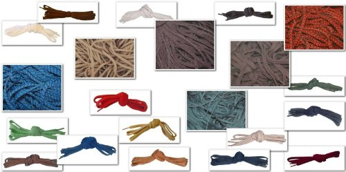Flat 5mm Laces For shoes Plimsoles fashion trainers