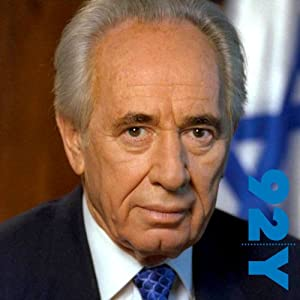 Shimon Peres and Michael Bar-Zohar at the 92nd Street Y | [Shimon Peres, Michael Bar-Zohar]