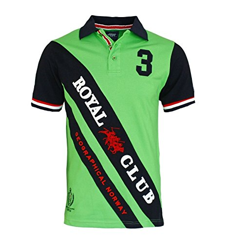 Geographical Norway -  Polo  - Uomo verde L