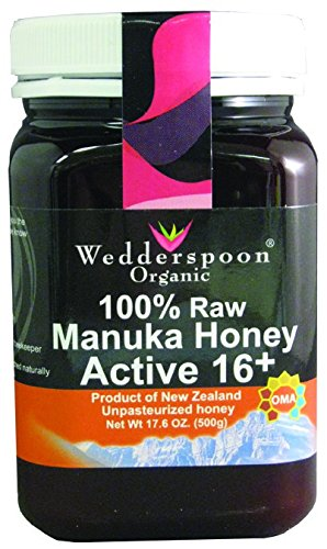 Wedderspoon Organic - Manuka Honey 100% Raw Organic Unpasteurized Active 16+ - 17.6 oz. ( Multi-Pack)