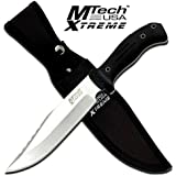 MTECH USA XTREME MX-8074 Overall Fixed Blade Knife, 12.5-Inch