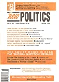 img - for New Politics: A Journal of Socialist Thought, Winter 1995 (Vol V, No 2) Whole No 18 book / textbook / text book