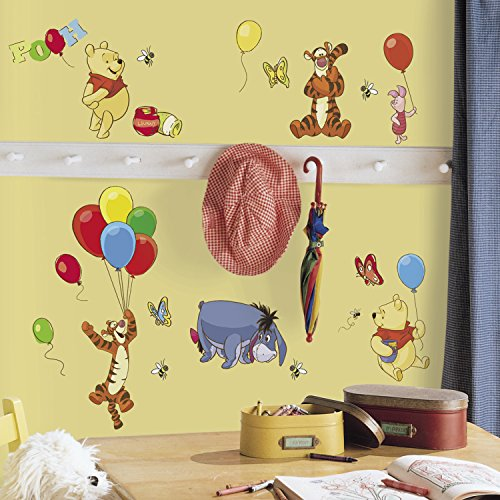 Roommates Rmk1498Scs Pooh And Friends Peel & Stick Wall Decal front-1058452