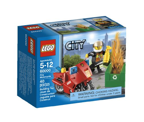 LEGO City Motorcycle 60000 - 1