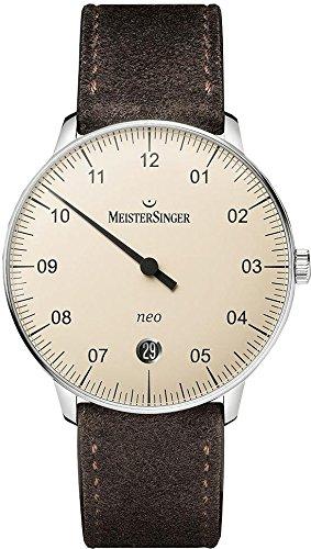 MeisterSinger Neo NE903N Reloj automático con sólo una aguja Clásico & sencillo