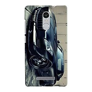 ColourCrust Xiaomi Redmi Note 3 Mobile Phone Back Cover With Kicherer Mercedes-Benz Car - Durable Matte Finish Hard Plastic Slim Case